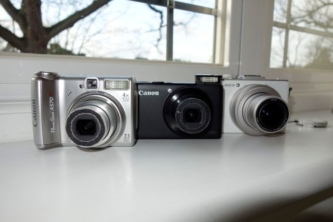 3 Compact Generations 35, 28, 24 mm