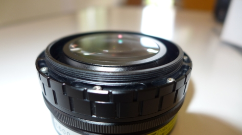 UCL100 rear lens attached to Fix LD adapter