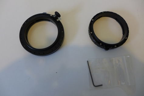 Nauticam and Fix LD-M67 adapter