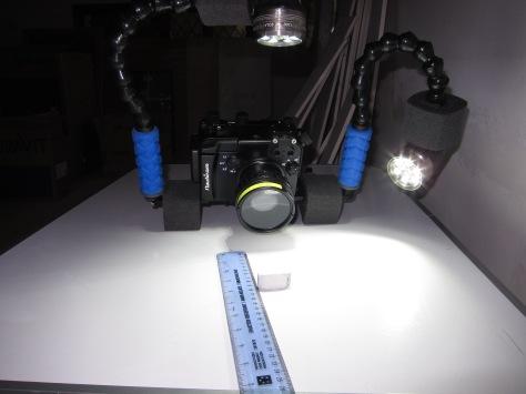 Monopod front Macro Light Position