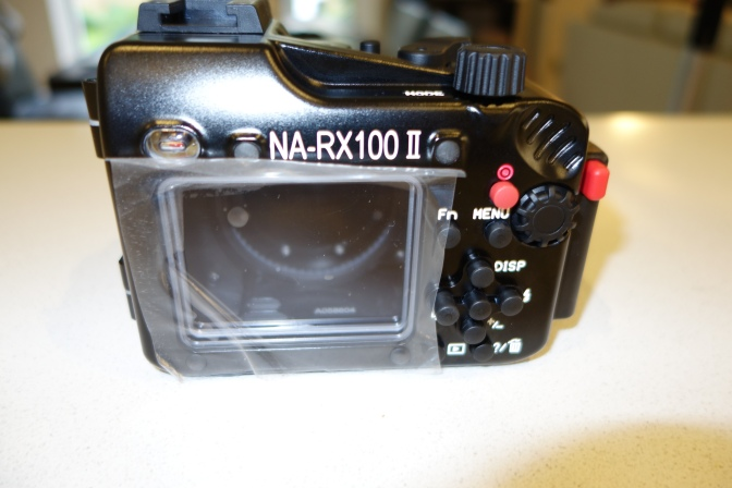 Sony RX100 Mark II – Nauticam Housing Review