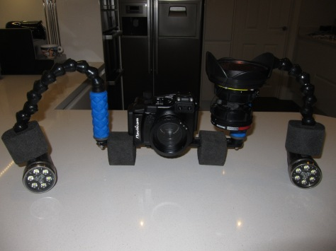 Sony RX100 Mark II Underwater Video Rig