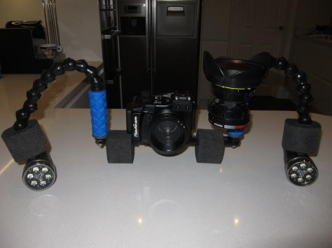 Sony RX100 Mark II Underwater Video Rig