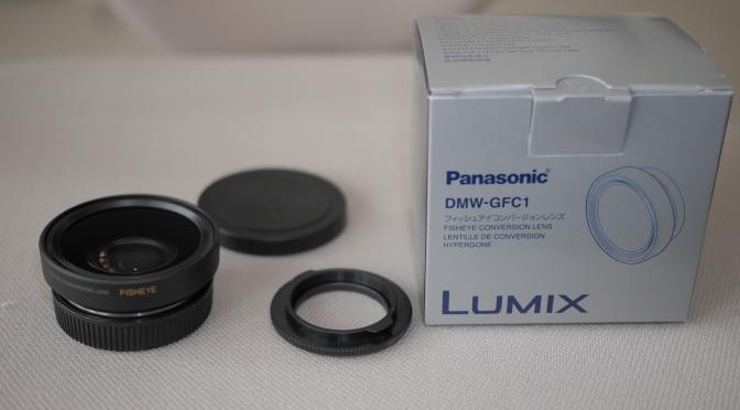 Panasonic Lumix G X Vario 14-42mm with Fisheye Converter DMW-GFC1