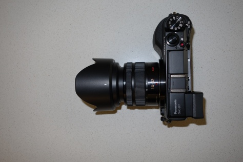 Panasonic GX7 with Kit lens at wide end
