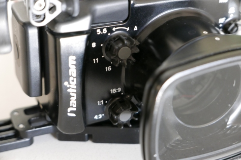 NA-LX100 aperture and format dial