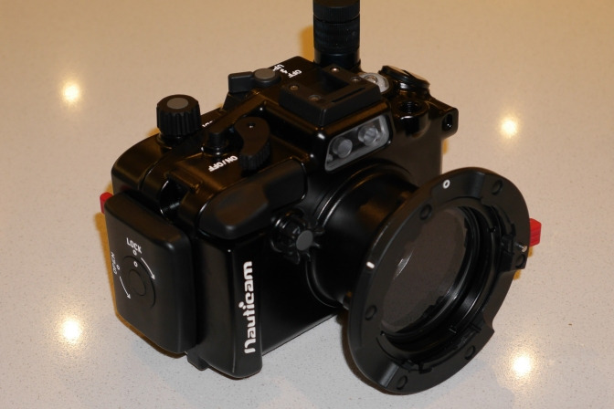 Nauticam bayonet mount for wet lenses
