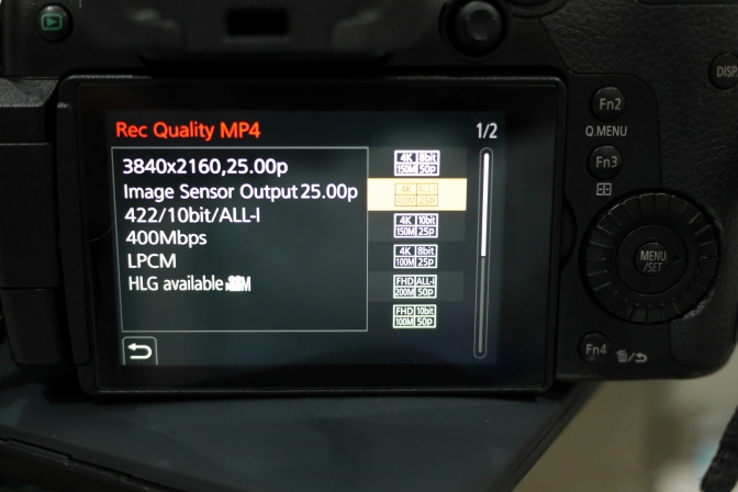 Panasonic GH5 the gateway to 4K HDR Video