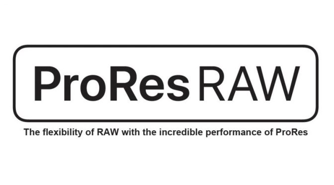 ProRes Raw Status as of December 2020